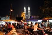 A view of Malaysia's landmark Patronas T