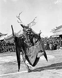Dancing Demons - Ceremonial Masks of Mongolia