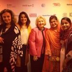 Diane Von Furstenberg, Sharmeen Obaid-Chinoy, Ambassador Melanne Verveer, Khalida Brohi, Humaira Bachal