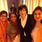 Khalida Brohi, Humaira Bachal, Cristiane Amanpour, Sharmeen Obaid-Chinoy