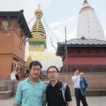 Dr. Tsering Sherpa and Jinqian Liu.