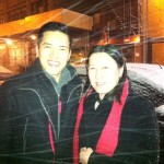 Eric Wong and Undraa Agvaanluvsan