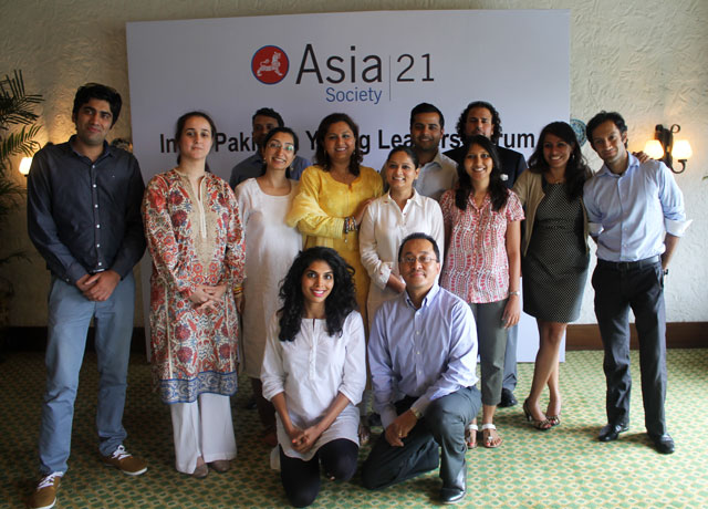 The India-Pakistan 21 Regional Young Leaders Class of 2014