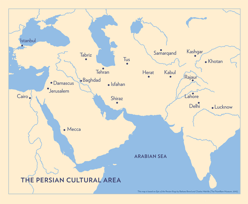 Map of the Persian Culture