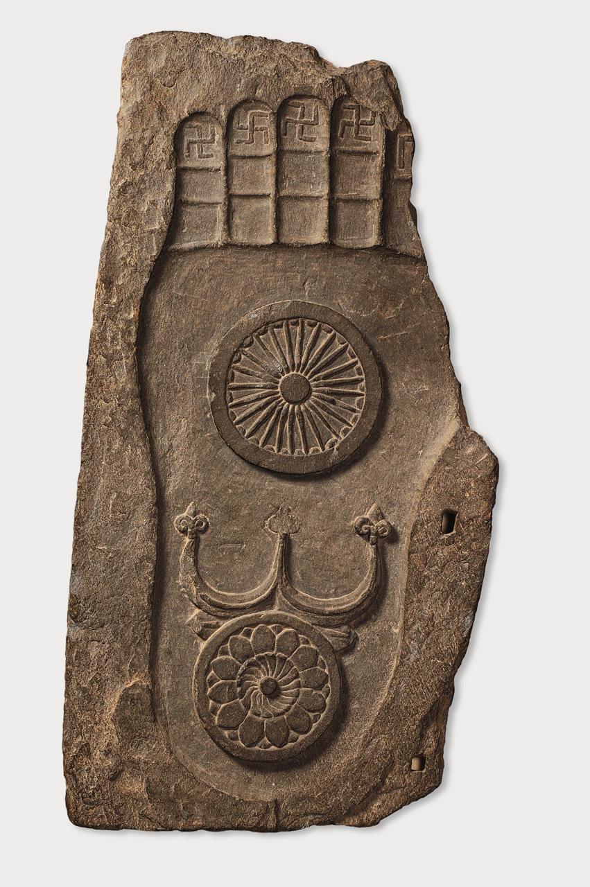 Gandhara buddhas and bodhisattvas footprint of the buddha buycottarizona Gallery