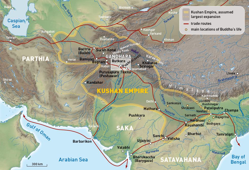 Gandhara Maps