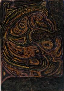 Untitled (Beaked zoomorphic form)