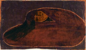 Untitled (Seated Woman: forward bend)