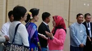 Daw Aung San Suu Kyi at the World Economic Forum on East Asia, June 5-7, Naypyitaw, Myanmar